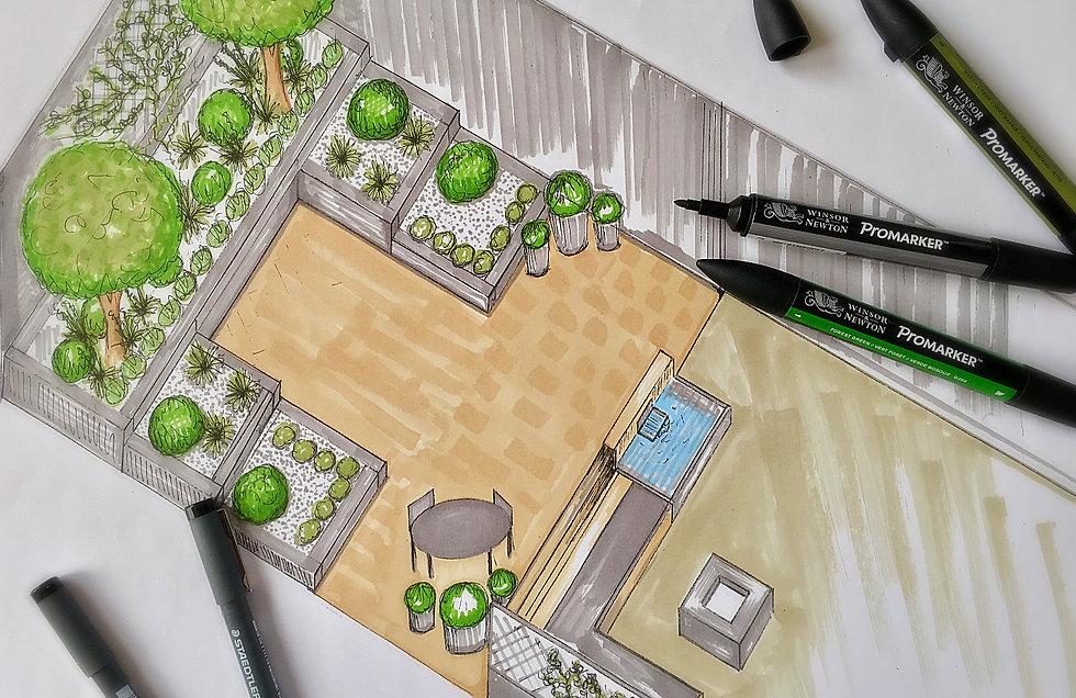 Low maintenance garden design south yorkshire garden designer