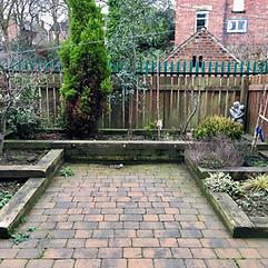 Townhouse Garden BEFORE
