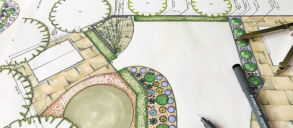 Family garden design by South Yorkshire based Viridi Garden Design.