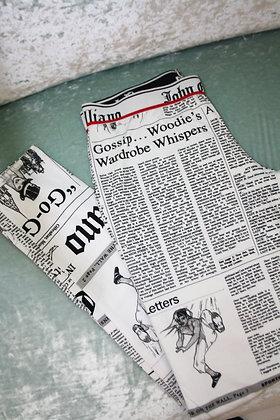JOHN GALLIANO newspaper legging