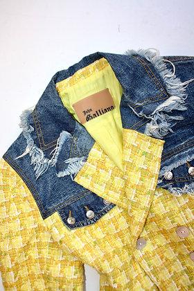 JOHN GALLIANO tweed jacket