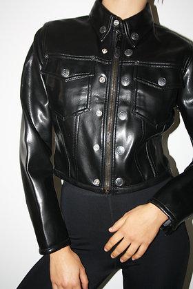 JEAN PAUL GAULTIER pvc jacket