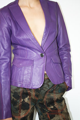 JEAN'S PAUL GAULTIER leather jacket