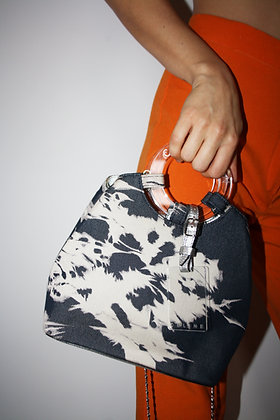 CELINE tie and dye denim bag from SS 2000