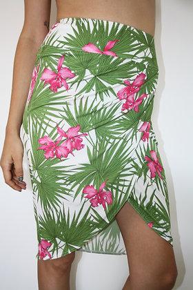 CELINE tropical skirt