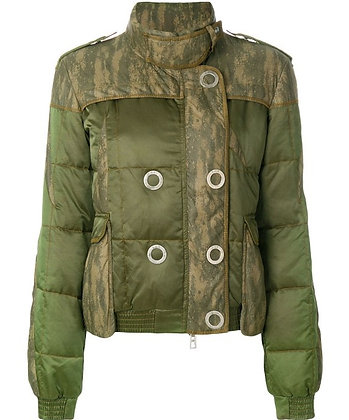 DIOR double-breasted quilted jacket