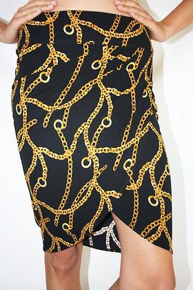 CELINE by Michael Kors logo skirt