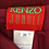 Thumbnail: KENZO wool mini wrap skirt