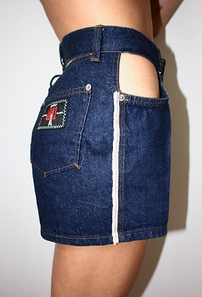 JEAN PAUL GAULTIER  cut out mini shorts