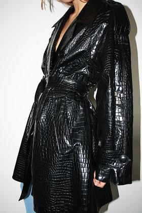 YVES SAINT LAURENT variation raincoat