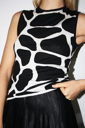 CELINE cashmere sleeveless top