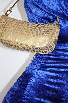 CELINE gold baguette bag