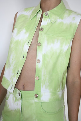 CELINE tie and dye jacket from Spring 2000