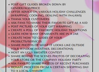 Holiday Content Marketing Ideas