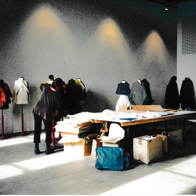 Marianne Isager grupperer modellerne