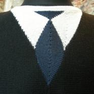 """""""Trøje med slips"""""""