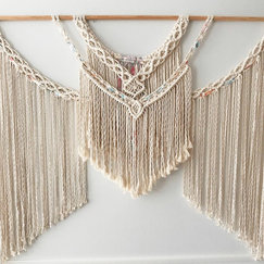 Large Mac'n Weave Wall Hanging