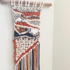 Medium Mac'n Weave Wall Art