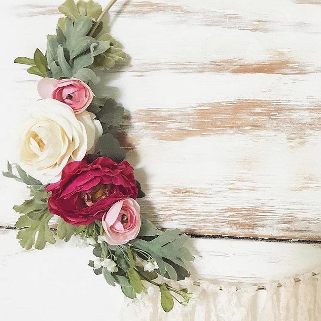 Floral Loop Wall Art