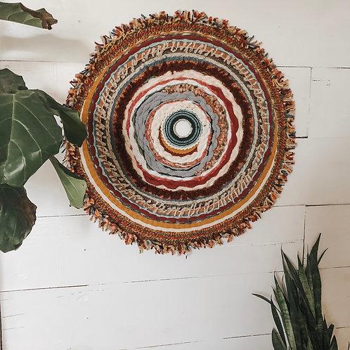 Alanis Boho Round Weaving