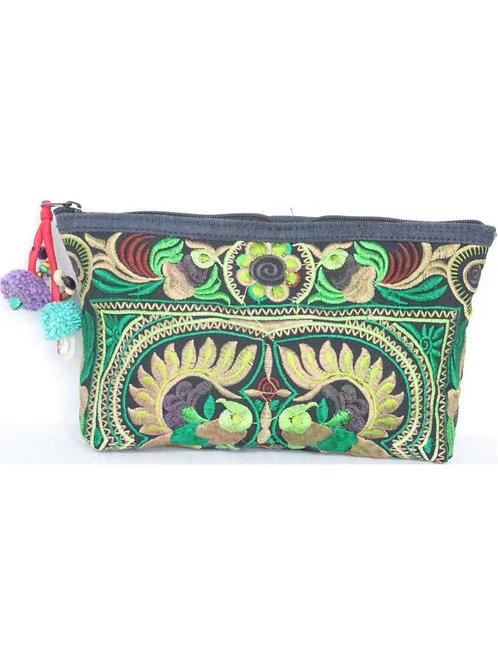 Peacock Cosmetic Bag