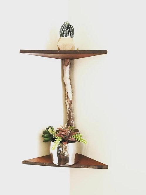 Handcrafted Drift Wood Shelf