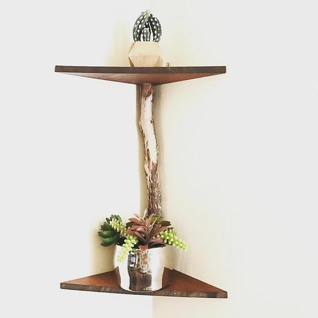 Handmade Drift Wood Shelf
