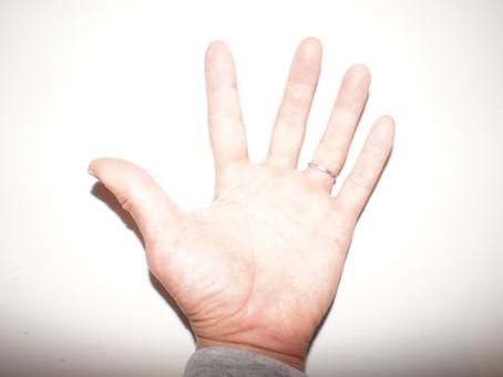 【自宅で体感!?】その4-①  手のひらの巻    手の菌・手の汚れは不安!!