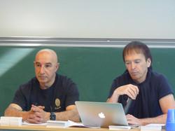 JF Bernardini et Yazid Kherfi