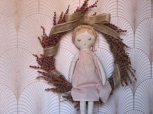 Corona Sueño de lavanda rosa