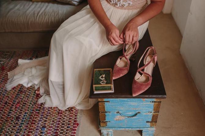 Una novia con aire retro,de lo más espectacular