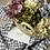 Thumbnail: Capazo de Hortensias de tela Holand