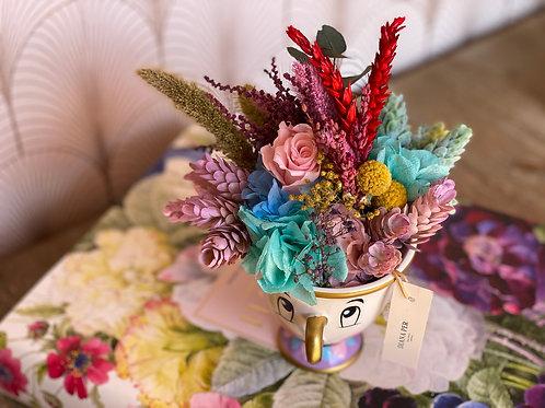Chip con flores