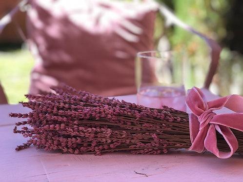 Ramito de lavanda rosa