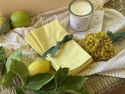 Pack 6 servilletas Lemonade