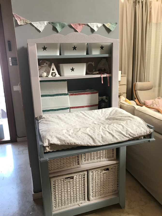 Solución deco: Cómo adaptar un mueble de bebé en el salón