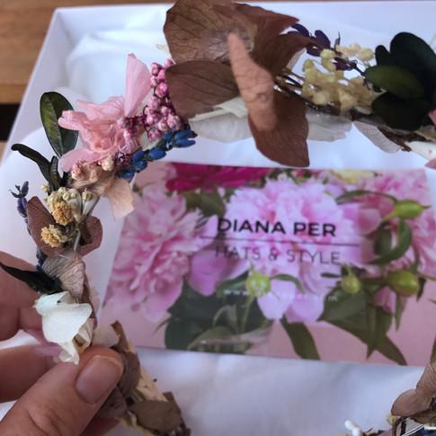 Diadema Juliana Diana Per