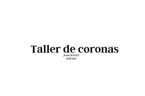 Taller de coronas