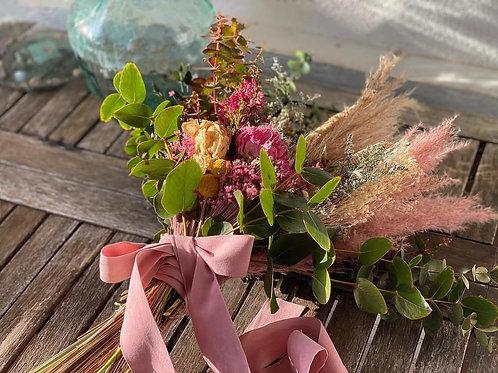 Ramo de flores secas María
