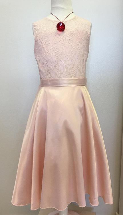 Girls beige dress