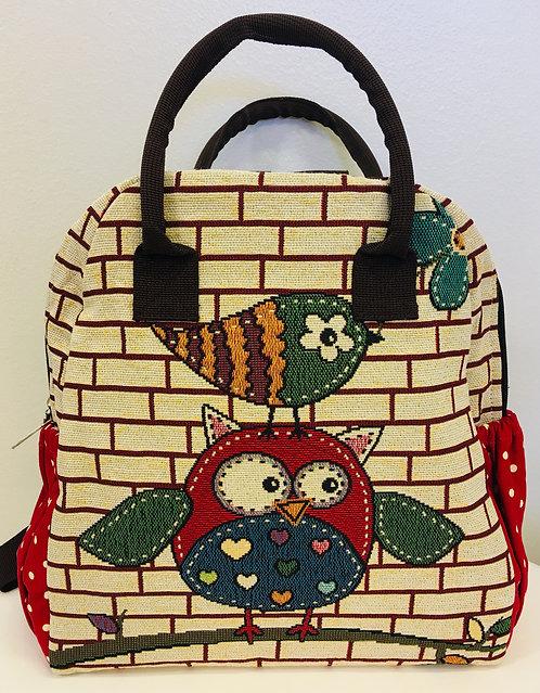 Pöllö laukku/reppu / Back pack
