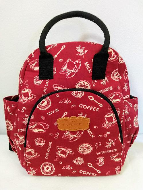 Punainen laukku/reppu / Back pack