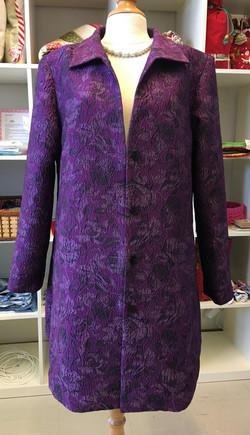 Women's violet dress