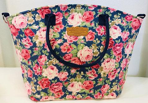 Pink Roses laukku / Hand bag