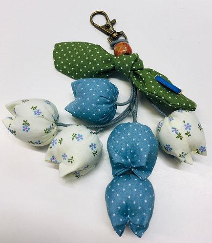 Avainperä Tulppaanit / key chain tulips