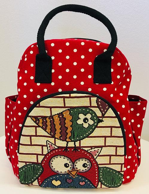 Red Owl+Bird reppu / Back pack