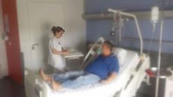 chambre hospitalisation service chirurgie cervicofaciale et ORL Pontoise