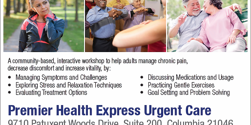 Chronic Pain Self-Management Seminar
