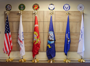 Flags Waiting Room