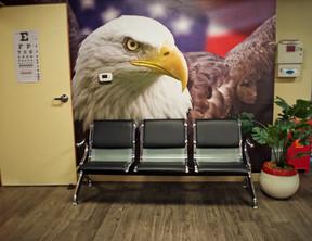 Treatment Room waiting area